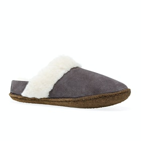 Sorel Youth Nakiska Slide II Kids Slippers - Purple Sage, Na