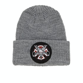 Bonnet Independent Thrasher Pentagram Cross - Heather Grey