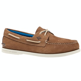 Sperry A/o 2 Eye Plush Washable , Dress Shoes - Tan