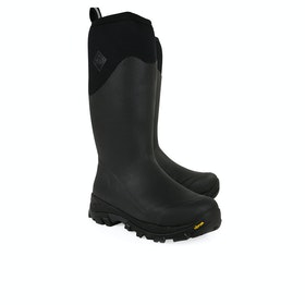 Muck Boots Arctic Grip Tall Men's Wellington Boots - Black
