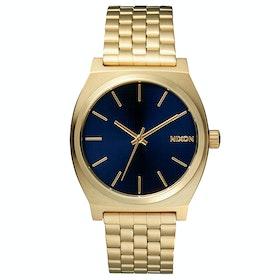 Nixon Time Teller Uhr - All Light Gold Cobalt