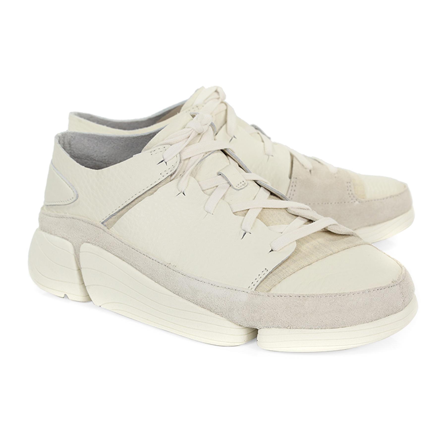 Clarks Originals Trigenic Evo Shoes White   Country Attire US