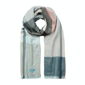 Joules Berkley Women's Scarf - Light Blue Check