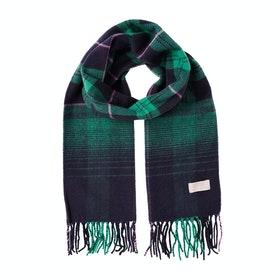 Joules Bracken Women's Scarf - Navy Ombre Check