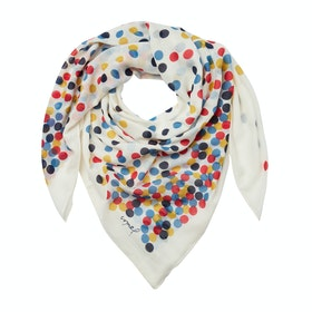 Joules Atmore Women's Scarf - Cream Spots