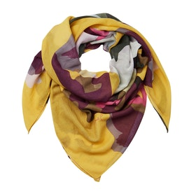 Joules Atmore Women's Scarf - Gold Floral