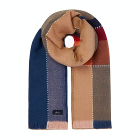 Joules Stamford Women's Scarf - Tan Check