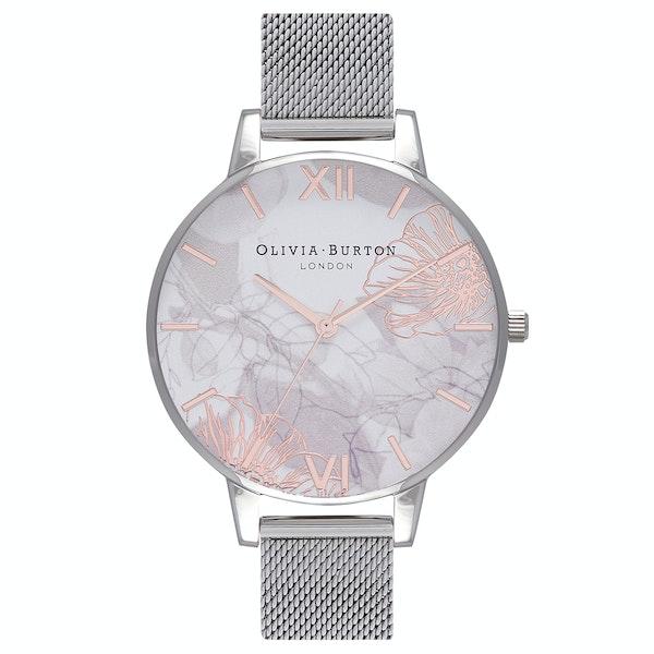 Olivia Burton Abstract Florals Women's Watch