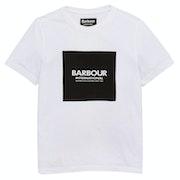 Barbour International Block Logo Boy's Short Sleeve T-Shirt