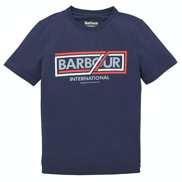 Barbour International Compressor Boy's Short Sleeve T-Shirt
