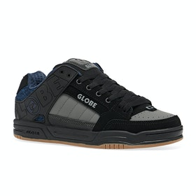 Chaussures Globe Tilt - Black Blue Knit Gum