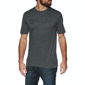 Oakley Mark II Short Sleeve T-Shirt - Jet Black Heather
