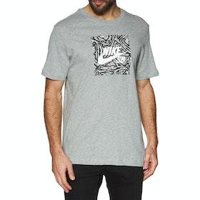 T-Shirt à Manche Courte Nike SB Triangle - Dk Grey Heather