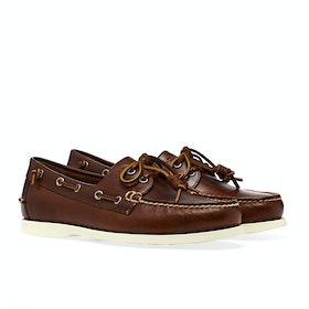 Polo Ralph Lauren Merton Dress Shoes - Deep Saddle Tan