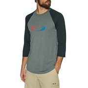 Oakley Usa Gradient Ellipse 3 Quarter Long Sleeve T-Shirt