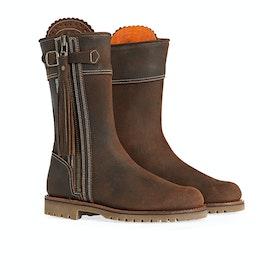 Penelope Chilvers Midcalf Tassel Women's Boots - Nut