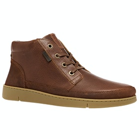 Barbour Wombat Boots - Cognac Grain Leather