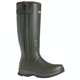 Ariat Burford Insulated Zip Mens Wellingtons - Olive Green