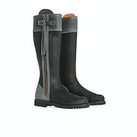 Penelope Chilvers Standard Tassel Women's Boots - Black Slate