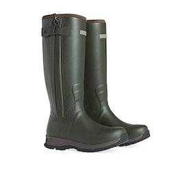 Ariat Burford Insulated Zip Men's Wellington Boots - Olive Green