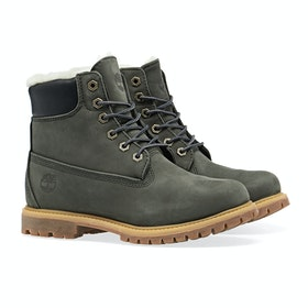 Timberland 6in Premium Shearling Women's Boots - Tornado Waterbuck