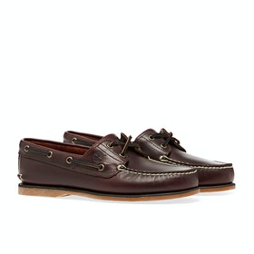 Timberland Classic Boat 2 Eye Brown Dress Shoes - Brown