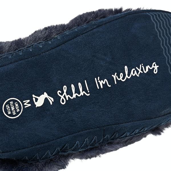 Joules Homestead Luxe Faux Fur Women's Slippers