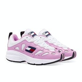 Tommy Jeans Retro Women's Shoes - Pink Mist White