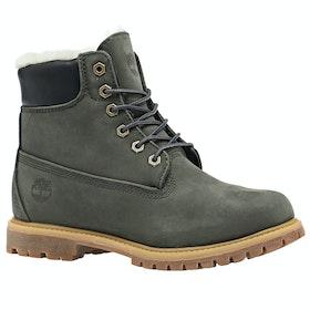 Timberland 6in Premium Shearling Ladies Boots - Tornado Waterbuck