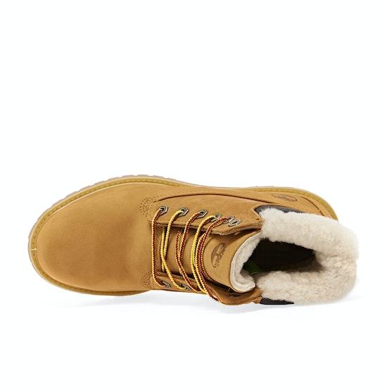 Timberland 6in Premium Shearlin Wheat Womens Boots