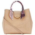 Lulu Guinness Cut Out Lip Luella Scarf Dames Handbag