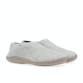 Toms Rodeo Men's Slippers - Drizzle Grey Felt