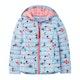 Joules Kinnaird Print Girls Jacket