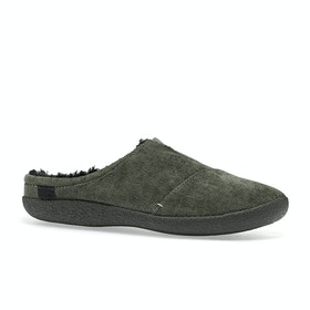 Toms Berkeley Slippers - Tarmac Olive Micro Corduroy