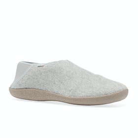 Toms Rodeo Slippers - Drizzle Grey Felt
