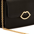 Lulu Guinness Cut Out Lip Polly Damen Handtasche