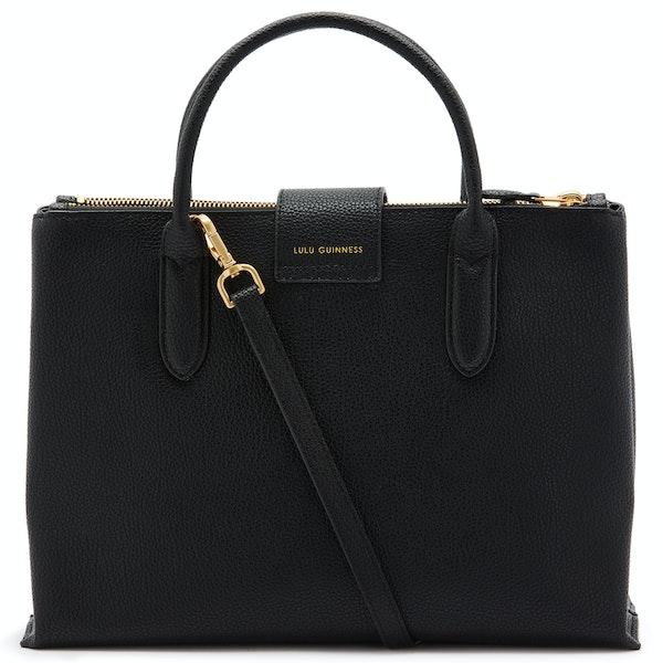 Lulu Guinness Large Cut Out Lip Fleur Dames Handbag