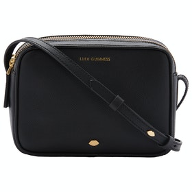 Lulu Guinness Lip Pin Cole Women's Handbag - Black