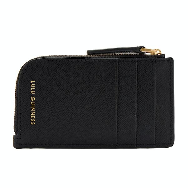 Lulu Guinness Lip Pin Leah Damen Brieftasche