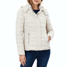 Joules Linden Women's Jacket - Ivory