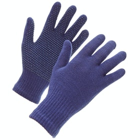 Shires Suregrip Kids Riding Gloves - Navy