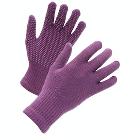 Shires Suregrip Kids Riding Gloves - Purple
