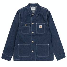 Carhartt Michigan Coat ジャケット - Blue Rigid