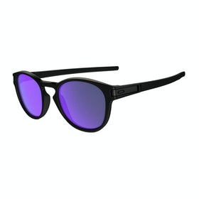Oakley Latch , Solbriller - Matte Black ~ Violet Iridium