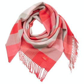 Joules Wilstow Women's Scarf - Pink Check