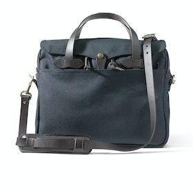 Filson Original Briefcase Messenger Bag - Navy