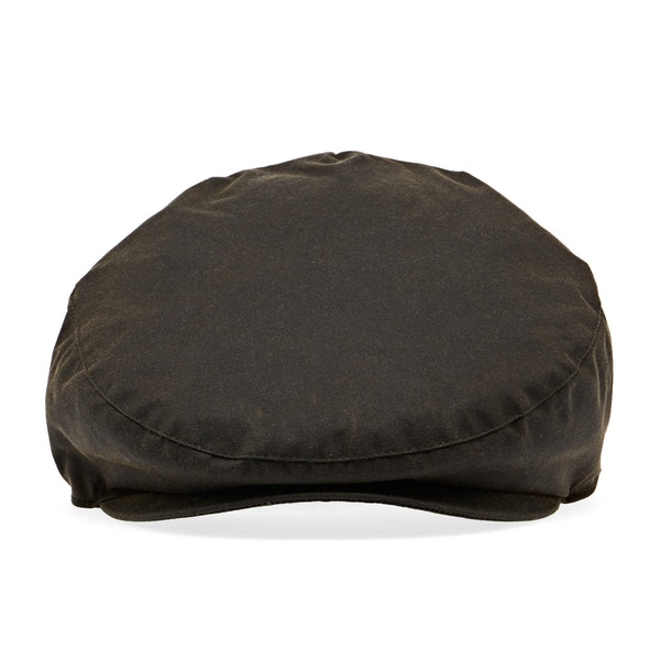 Barbour Sylkoil Wax Flat Men's Cap