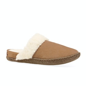 Sorel Nakiska Slide II Slippers - Camelbrown, Natural