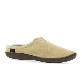 Pantuflas Toms Berkeley - Light Toffee Micro Corduroy