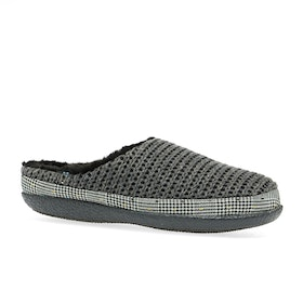 Toms Ivy Womens Slippers - Forged Iron Grey Sweater Knit